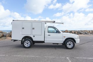 2003 Mazda Bravo B2500 DX White 5 Speed Manual Cab Chassis.