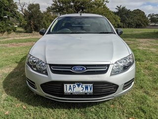 2013 Ford Falcon FG MkII Ute Super Cab Silver 6 Speed Automatic Utility.
