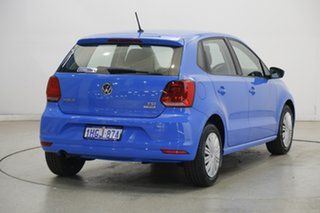 2015 Volkswagen Polo 6R MY15 66TSI Trendline Blue 5 Speed Manual Hatchback