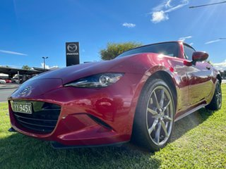 2017 Mazda MX-5 ND GT RF SKYACTIV-Drive Soul Red 6 Speed Sports Automatic Targa.