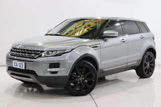 2013 Land Rover Range Rover Evoque L538 MY13 SD4 Coupe CommandShift Pure Silver 6 Speed.
