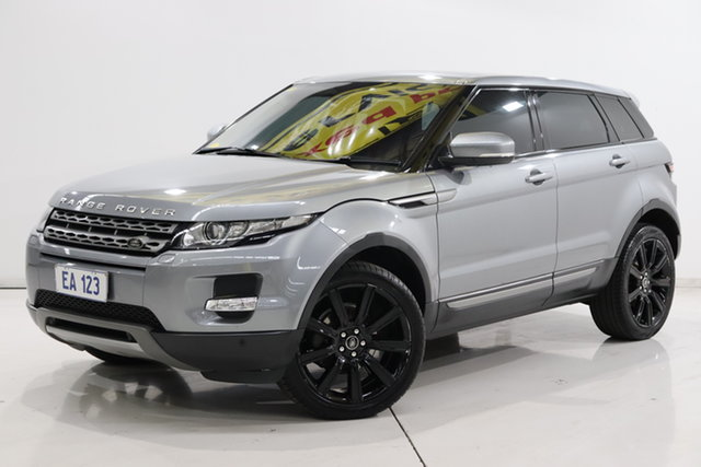 Used Land Rover Range Rover Evoque L538 MY13 SD4 Coupe CommandShift Pure Brooklyn, 2013 Land Rover Range Rover Evoque L538 MY13 SD4 Coupe CommandShift Pure Silver 6 Speed