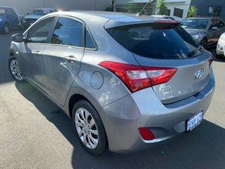 2013 Hyundai i30 GD Active Grey 6 Speed Sports Automatic Hatchback.