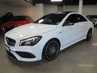 2019 Mercedes-Benz CLA-Class C117 809MY CLA250 DCT 4MATIC Sport White 7 Speed.