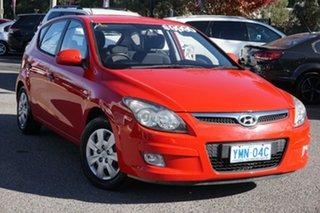 2011 Hyundai i30 FD MY11 SX Red 4 Speed Automatic Hatchback.