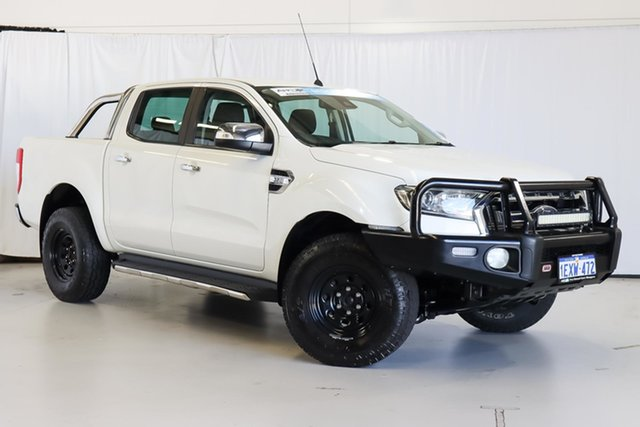 Used Ford Ranger PX MkII XLT Double Cab Wangara, 2015 Ford Ranger PX MkII XLT Double Cab White 6 Speed Sports Automatic Utility