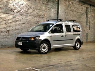 2015 Volkswagen Caddy 2KN MY16 TSI220 Maxi DSG Silver 7 Speed Sports Automatic Dual Clutch Van.