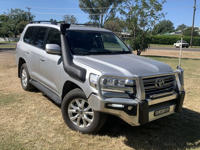 Used Toyota Landcruiser VDJ200R VX Moree, 2016 Toyota Landcruiser VDJ200R VX Silver Pearl 6 Speed Sports Automatic Wagon