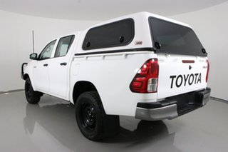 2018 Toyota Hilux GUN125R MY17 Workmate (4x4) White 6 Speed Automatic Dual Cab Utility