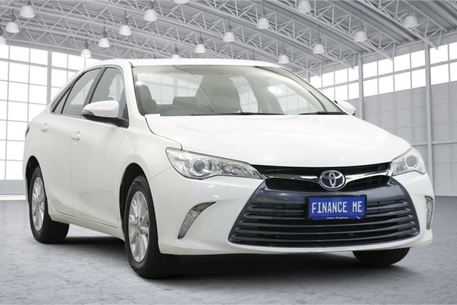 Used Toyota Camry ASV50R Altise Victoria Park, 2015 Toyota Camry ASV50R Altise White 6 Speed Sports Automatic Sedan