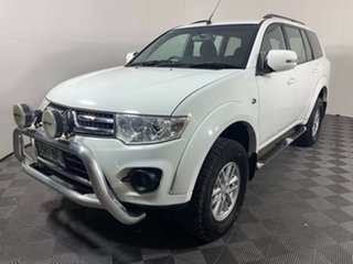 2014 Mitsubishi Challenger PC (KH) MY14 LS White 5 Speed Sports Automatic Wagon.
