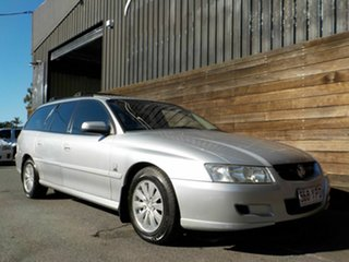 2004 Holden Commodore VZ Acclaim Silver 4 Speed Automatic Wagon.