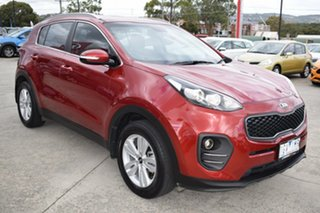 2016 Kia Sportage QL MY16 Si 2WD Red 6 Speed Sports Automatic Wagon.