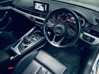 2016 Audi A4 B9 8W MY16 Sport S Tronic Quattro Silver 7 Speed Sports Automatic Dual Clutch Sedan