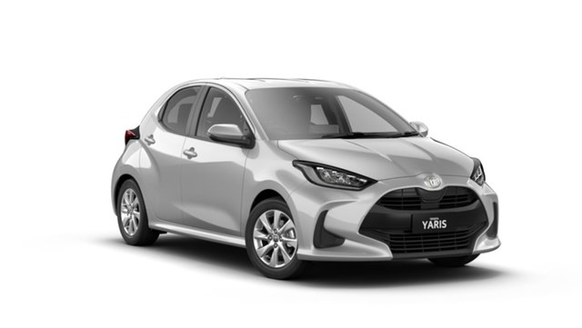 New Toyota Yaris Mxpa10R SX Albion, 2021 Toyota Yaris Mxpa10R SX Silver Pearl 1 Speed Constant Variable Hatchback