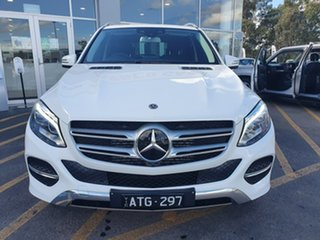 2017 Mercedes-Benz GLE-Class W166 807MY GLE250 d 9G-Tronic 4MATIC White 9 Speed Sports Automatic.