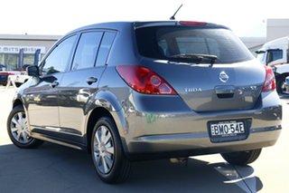 2010 Nissan Tiida C11 MY07 ST Grey 4 Speed Automatic Sedan.