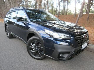 2021 Subaru Outback B7A MY21 AWD Sport CVT Dark Blue Pearl 8 Speed Constant Variable Wagon.