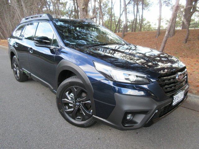 Demo Subaru Outback B7A MY21 AWD Sport CVT Reynella, 2021 Subaru Outback B7A MY21 AWD Sport CVT Dark Blue Pearl 8 Speed Constant Variable Wagon