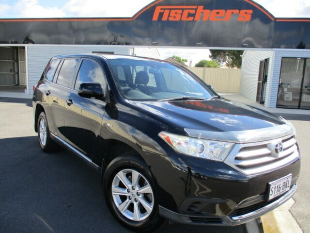 Used Toyota Kluger GSU40R MY12 KX-R 2WD Murray Bridge, 2012 Toyota Kluger GSU40R MY12 KX-R 2WD Black 5 Speed Sports Automatic Wagon