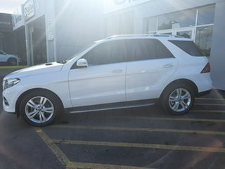 2017 Mercedes-Benz GLE-Class W166 807MY GLE250 d 9G-Tronic 4MATIC White 9 Speed Sports Automatic