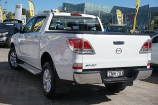 2013 Mazda BT-50 UP0YF1 XTR 4x2 Hi-Rider White 6 Speed Sports Automatic Utility