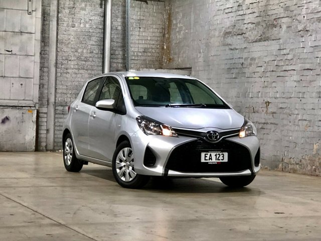 Used Toyota Yaris NCP130R YR Mile End South, 2014 Toyota Yaris NCP130R YR Silver 4 Speed Automatic Hatchback