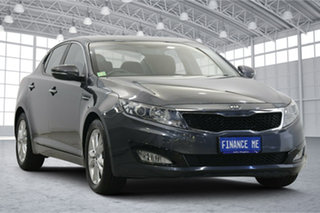 2012 Kia Optima TF MY13 SLi Grey 6 Speed Sports Automatic Sedan.