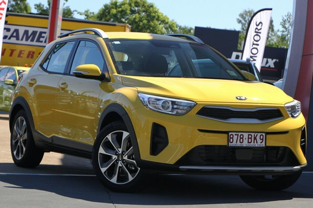 Used Kia Stonic YB MY21 Sport FWD Bundamba, 2020 Kia Stonic YB MY21 Sport FWD Mighty Yellow 6 Speed Automatic Wagon