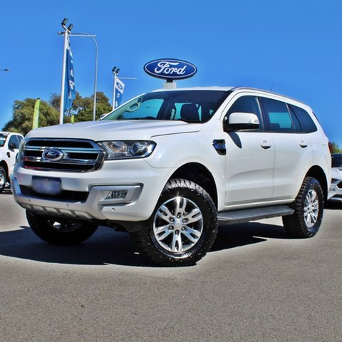 Used Ford Everest UA Trend Midland, 2016 Ford Everest UA Trend White 6 Speed Sports Automatic SUV