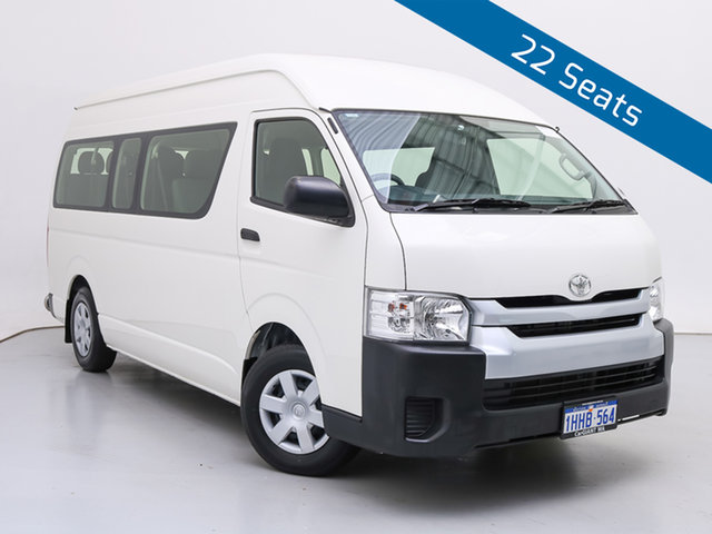 Used Toyota HiAce KDH223R MY16 Commuter, 2019 Toyota HiAce KDH223R MY16 Commuter White 4 Speed Automatic Bus