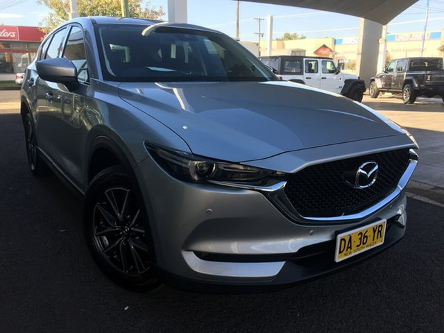Used Mazda CX-5 GT Dubbo, 2018 Mazda CX-5 KF Series GT Silver Sports Automatic