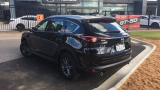 2021 Mazda CX-8 KG2WLA Sport SKYACTIV-Drive FWD Jet Black 6 Speed Sports Automatic Wagon.
