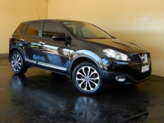 2012 Nissan Dualis J10 Series 3 TI-L (4x2) Black 6 Speed CVT Auto Sequential Wagon