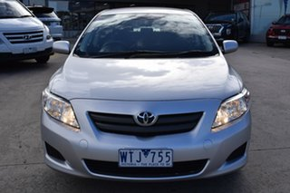 2008 Toyota Corolla ZRE152R Ascent Billet Silver 6 Speed Manual Sedan.