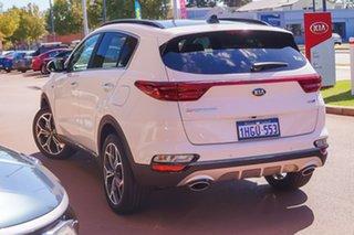 2021 Kia Sportage QL GT-Line White Sports Automatic SUV.