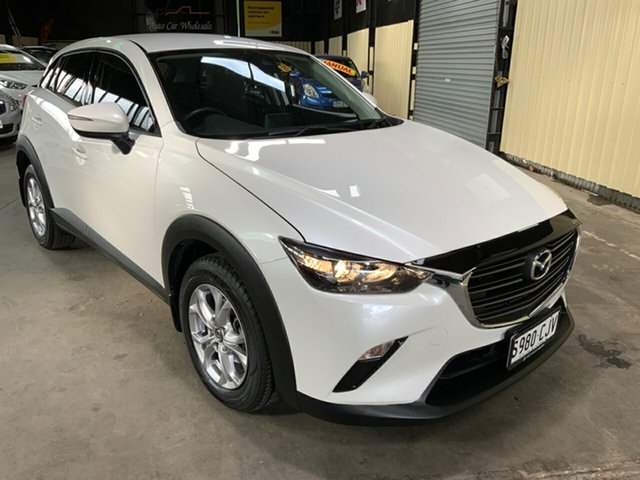Used Mazda CX-3 DK MY19 Maxx Sport (FWD) Hampstead Gardens, 2018 Mazda CX-3 DK MY19 Maxx Sport (FWD) White 6 Speed Automatic Wagon