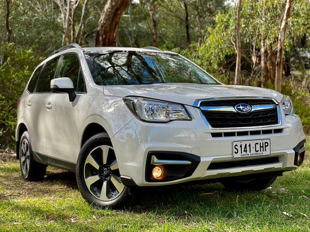 Used Subaru Forester S4 MY18 2.0D-L CVT AWD Reynella, 2018 Subaru Forester S4 MY18 2.0D-L CVT AWD Crystal White 7 Speed Constant Variable Wagon