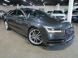 2015 Audi A7 4G MY16 S Line Sportback S Tronic Quattro Grey 7 Speed Sports Automatic Dual Clutch.