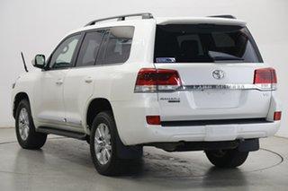 2020 Toyota Landcruiser VDJ200R Sahara Horizon Pearl White 6 Speed Sports Automatic Wagon