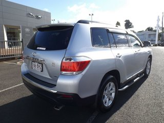 2011 Toyota Kluger GSU45R MY11 KX-R AWD Silver 5 Speed Sports Automatic Wagon