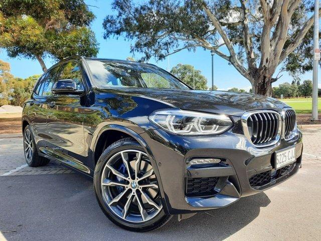 Used BMW X3 G01 xDrive30i Steptronic M Sport Adelaide, 2020 BMW X3 G01 xDrive30i Steptronic M Sport Black 8 Speed Sports Automatic Wagon