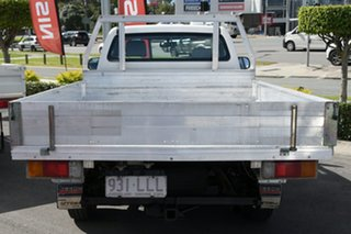 2009 Toyota Hilux TGN16R MY09 Workmate 4x2 White 5 Speed Manual Cab Chassis