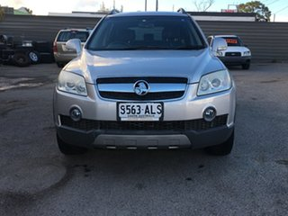 2007 Holden Captiva CG LX AWD Silver 5 Speed Sports Automatic Wagon