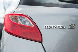 2011 Mazda 2 DE10Y1 MY11 Neo Silver 5 Speed Manual Hatchback.