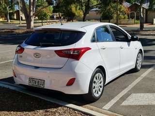 2015 Hyundai i30 GD3 Series II MY16 Active White 6 Speed Manual Hatchback
