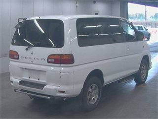 2004 Mitsubishi Delica PD6W Spacegear White Automatic Van Wagon
