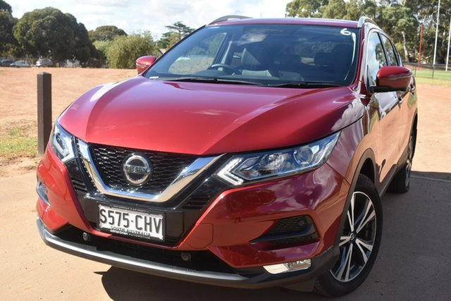 Demo Nissan Qashqai J11 Series 3 MY20 ST-L X-tronic St Marys, 2020 Nissan Qashqai J11 Series 3 MY20 ST-L X-tronic Magnetic Red 1 Speed Constant Variable Wagon
