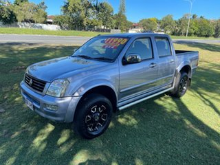 2004 Holden Rodeo RA LT Crew Cab Grey 5 Speed Manual Utility.
