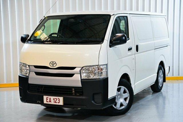 Used Toyota HiAce KDH201R LWB Hendra, 2017 Toyota HiAce KDH201R LWB White 4 Speed Automatic Van